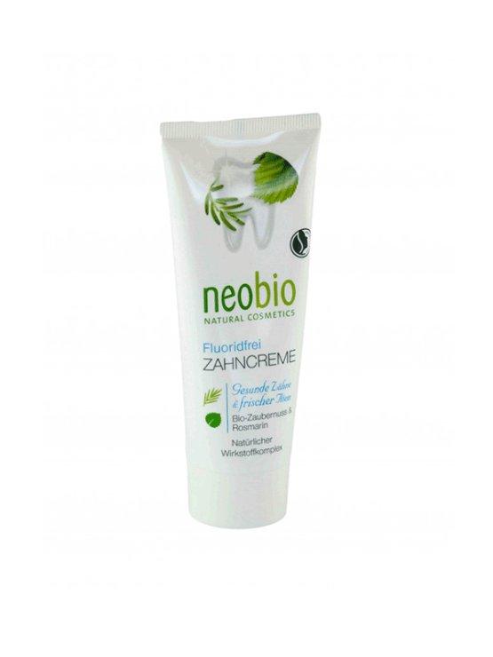 Neobio ekološka zobna pasta brez fluorida v tubi, 75ml.