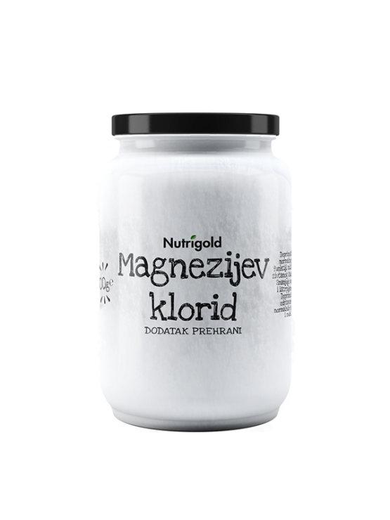 Nutrigold čisti magnezijevv klorid v kozaracu, 500g.