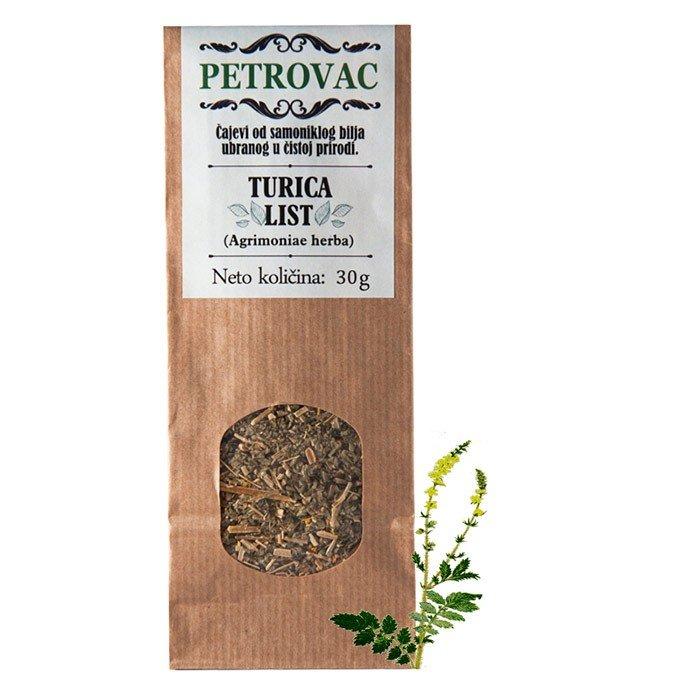 Petrovac čaj iz navadnega repika v papirnati embalaži, 30g.