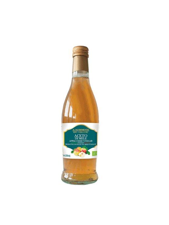 Probios ekološki jabolčni kis v svetli steklenici, 500ml.