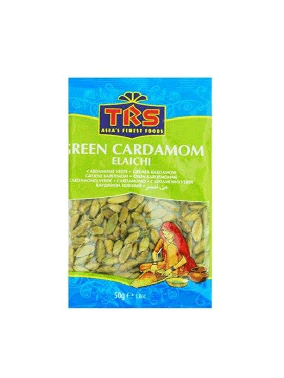TRS zeleni kardamom v plastični embalaži, 50g.