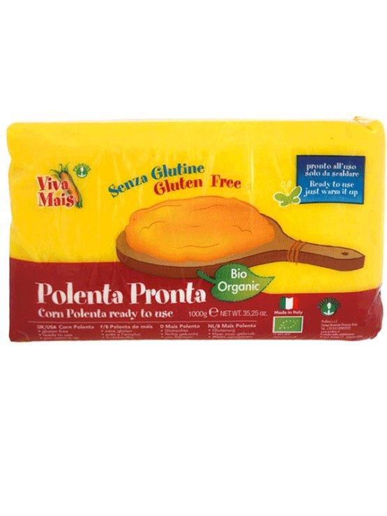 Probios ekološka koruzna polenta brez glutena v plastični embalaži, 1000g.