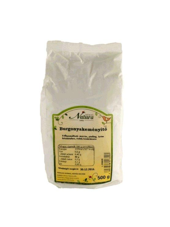 Natura krompirjev škrob v papirnati embalaži, 500g.