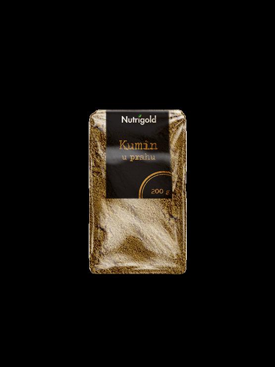 Nutrigold kumina v prahu v prozorni platični embalaži, 200g.