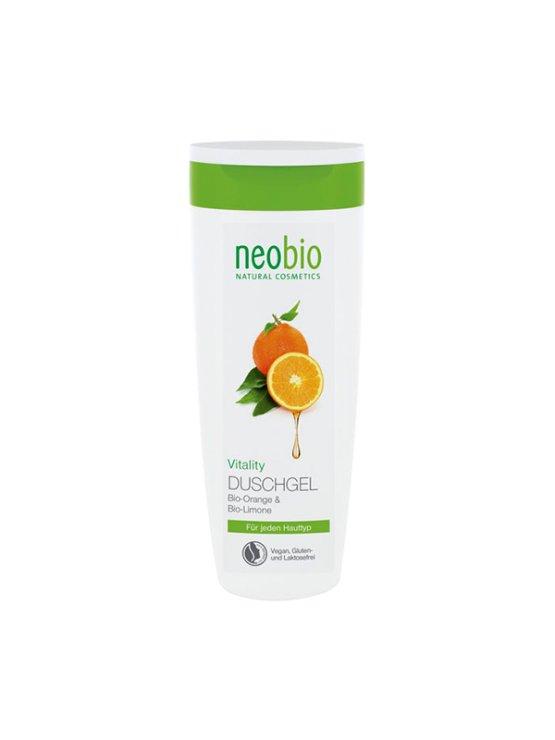 Neobio gel za prhanje Vitality Pomaranča & Limona v plastični embalaži, 250ml.