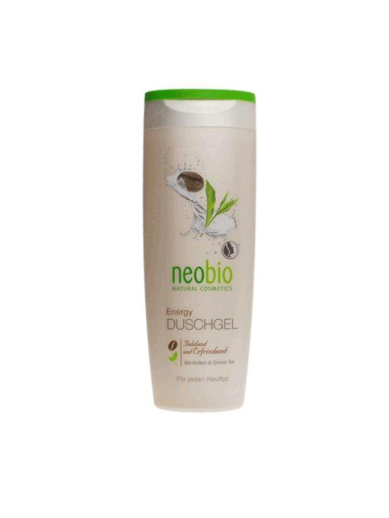 Neo bio gel za prhanje Energy Zeleni čaj & Kofein v plastični embalaži, 250ml.