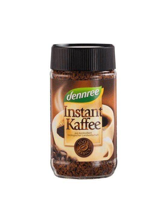 Dennree ekološka instant kava v kozarcu, 100g.