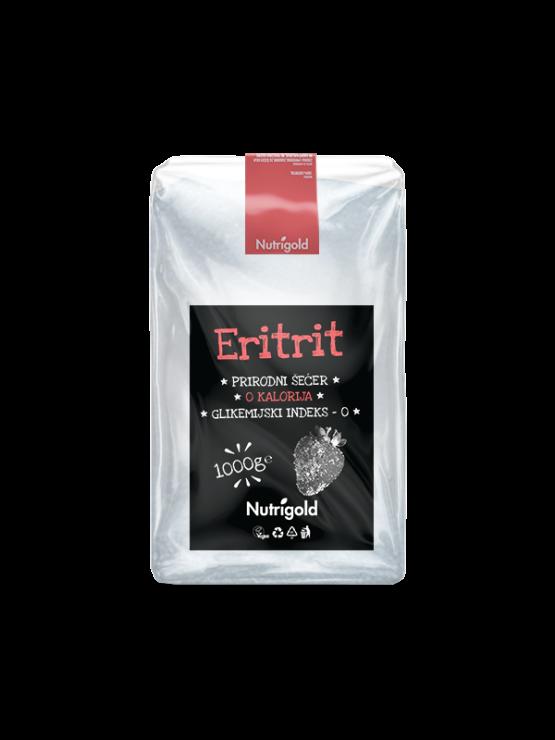 Nutrigold eritritol, naravno sladilo rez kalorij, 1000g.