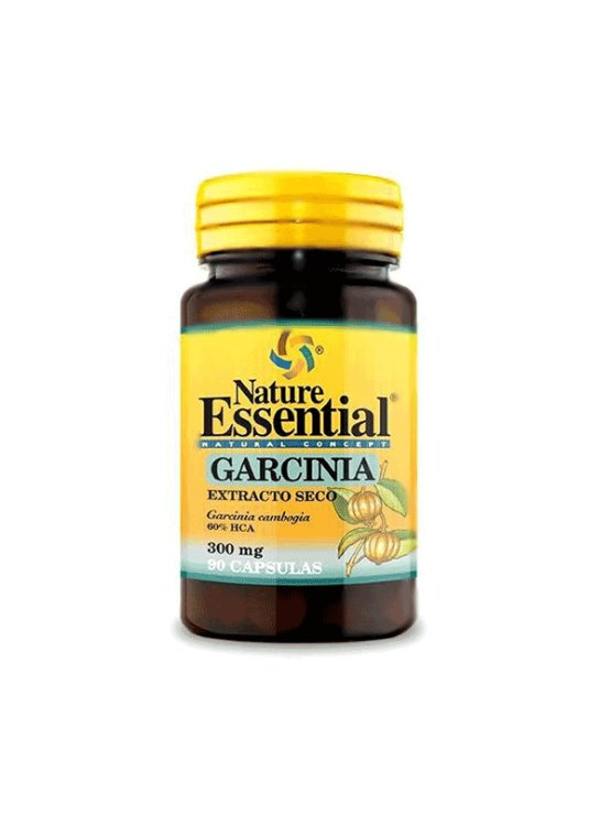 Nature Essential Garcinia Cambogia 300mg kapsule v plastični embalaži, 90 kapsul.