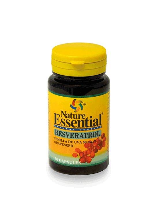 Nature Essential izvleček grozdnih pešk 50mg, kapsule v plastični embalaži, 50 kapsul.