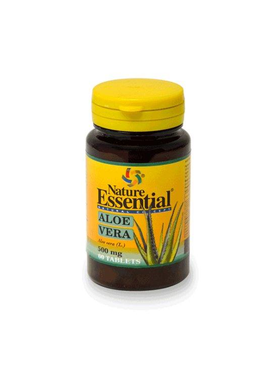 Nature Essential aloe vera 250mg v plastični embalaži, 50 tablet.