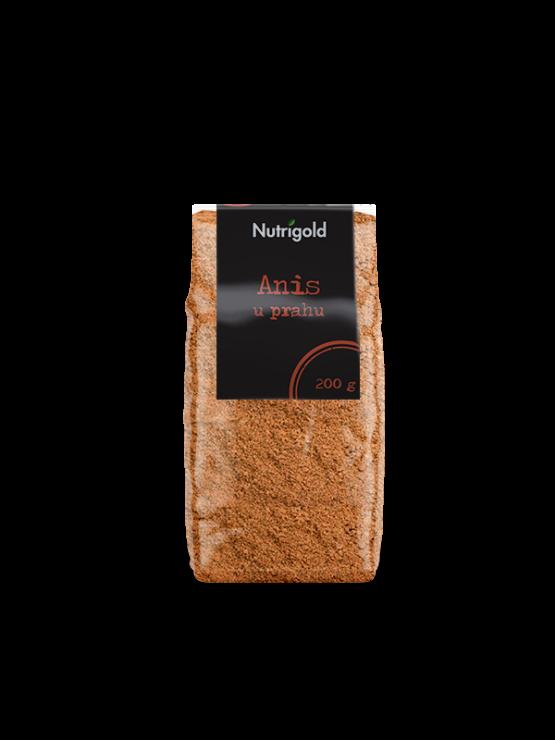 Nutrigold janež v prahu v prozorni plastični embalaži, 200g.