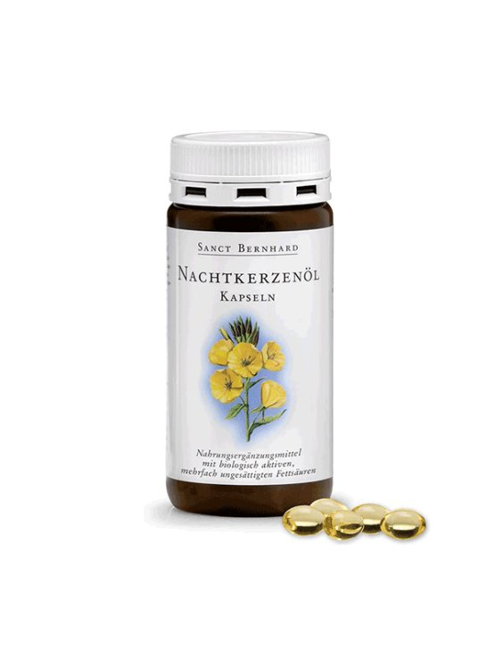 Krautherhaus kapsule z oljem semen dvoletnega svetlina v plastični emblaži, 200 kapsul.