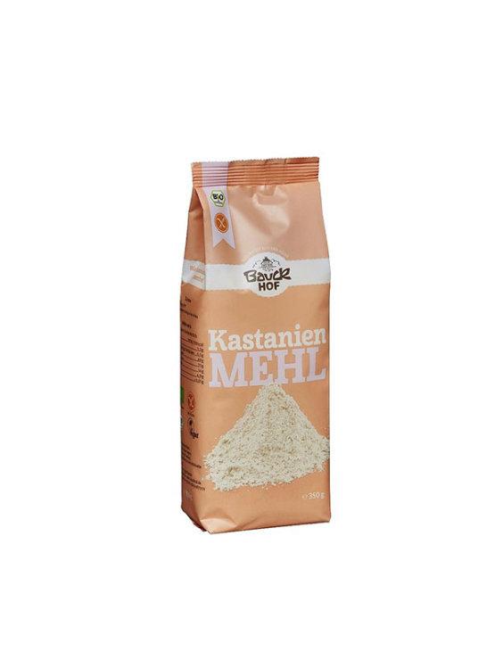 BauckHof ekološka kostanjeva moka brez glutena v plastični embalaži, 350g.