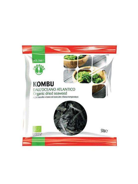 Probios ekološke kombu alge v plastični embalaži, 50g.