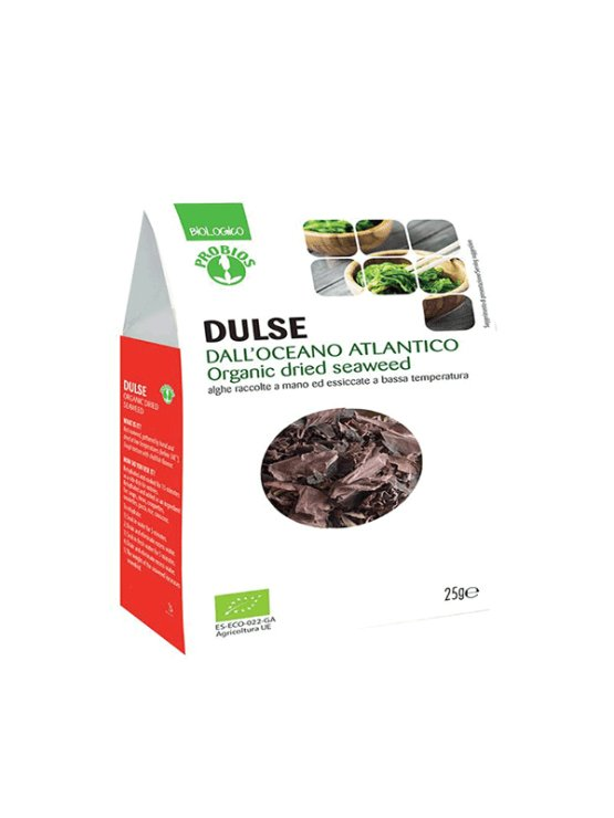 Probios ekološke dulse alge v kartonski embalaži, 25g.
