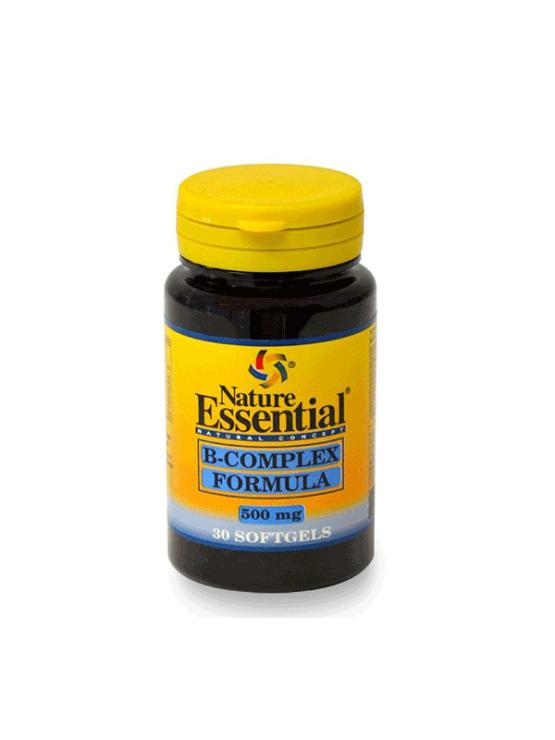 Nature Essential B kompleks formula kapsule v plastični embalaži, 30 kapsul
