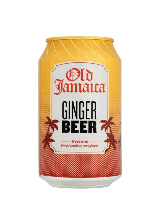 Old Jamaica ingverjevo pivo v pločevinki, 330ml.