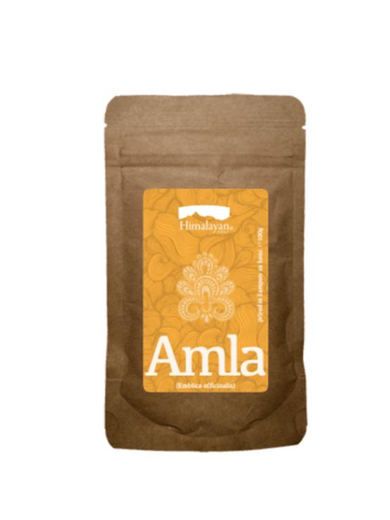 Himalayan Amla naravna maska za lase v papirnati embalaži, 100g.
