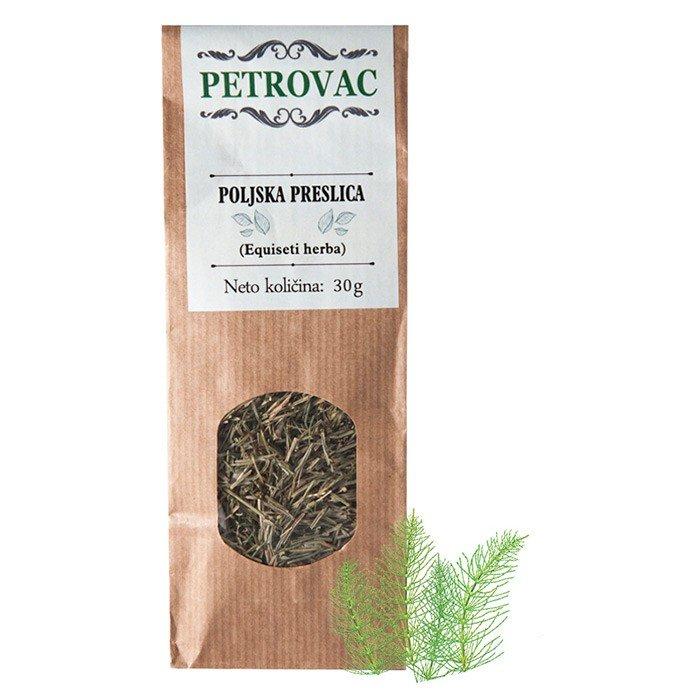 Petrovac čaj iz njivske preslice v papirnati embalaži, 30g.