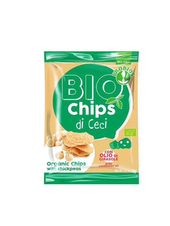 Probios ekološki čips s čičeriko v plastičnie embalaži, 40g.