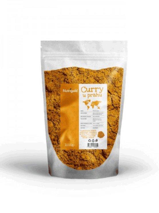 Nutrigold curry v prahu v plastični embalaži, 1000g.