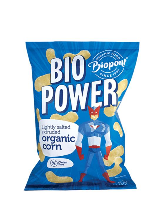 Biopont BioPower ekološki flips v plastični embalaži, 70g.