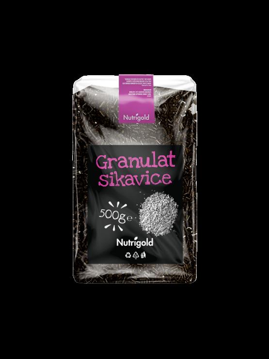 Granulat pegastega badlja Nutrigold v 500 gramski embalaži