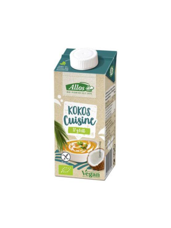 Allos ekološka kokosova smetana v tetrapaku, 200ml.