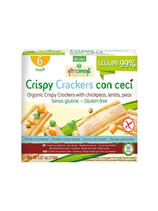 Probios hrustljavi krekerji s čičeriko v kartonski embalaži, 110g.