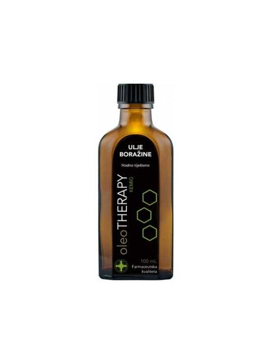 Oleo Therapy hladno stisnjeno borečevo olje v steklenici, 100ml.