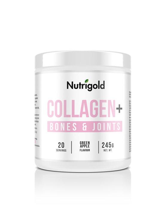 Collagen+ Bones and Joints - Za zdravje kosti Zeleno jabolko 245g Nutrigold