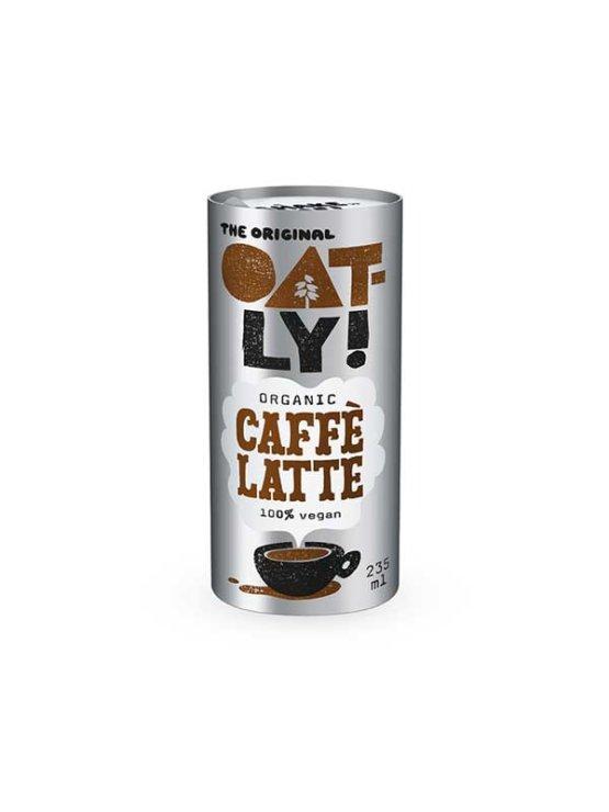 Oatly ekološki caffe latte napitek v pločevinki, 235ml.
