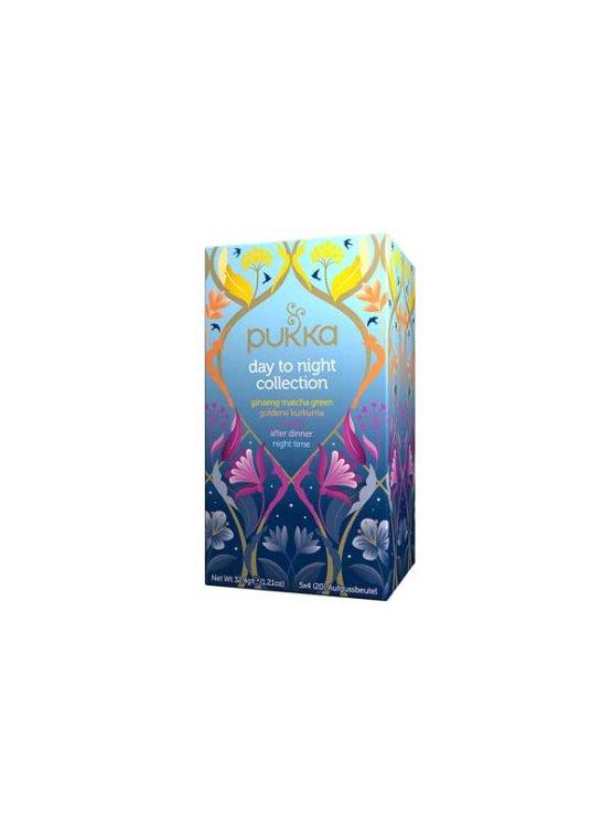 Pukka ekološki čaj Day to Night v kartonski embalaži, 1-2g x20.