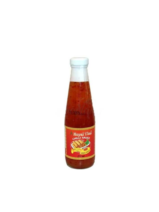 Royal Thai chilli omaka v steklenici, 275ml.