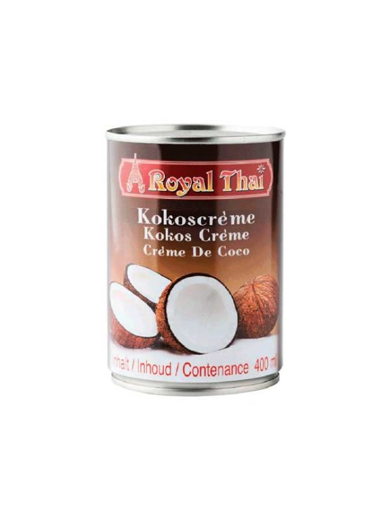 Royal Thai kokosova krema v pločevinki, 400ml.
