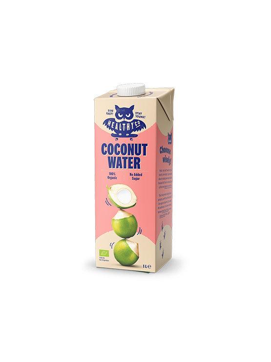 HealthyCo ekološka kokosova voda v kartonski embalaži, 1000ml.