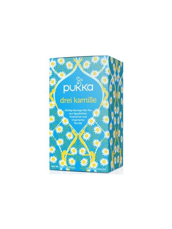 Puka ekološki kamilični čaj v kartonski embalaži, 30g.