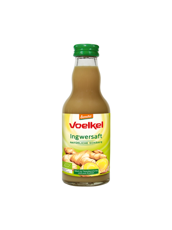 Voelkel ekološki ingverjev sok v steklenici, 0,2l.