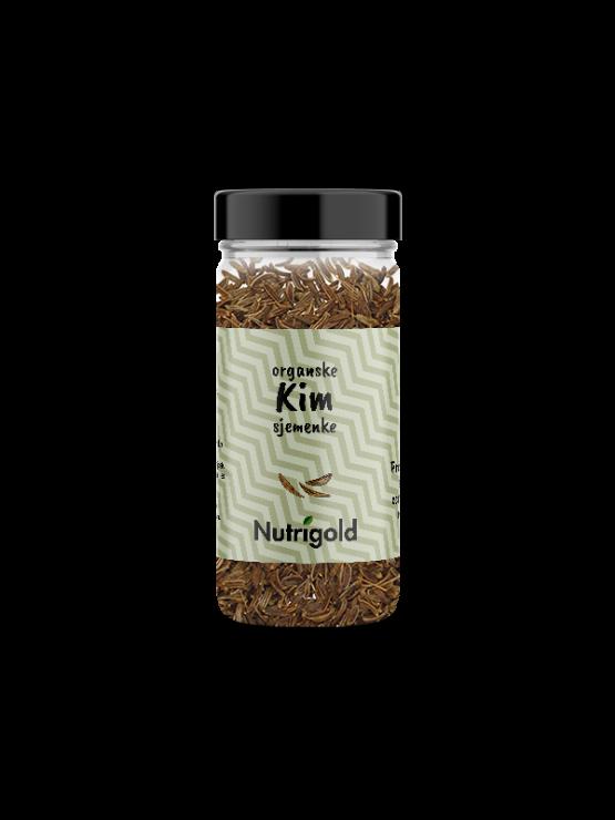Nutrigold ekološka cela kumina v steklenički, 45g.