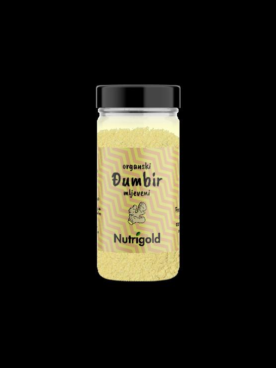 Ekološki ingver v prahu v steklenički s pokrovom 30g Nutrigold