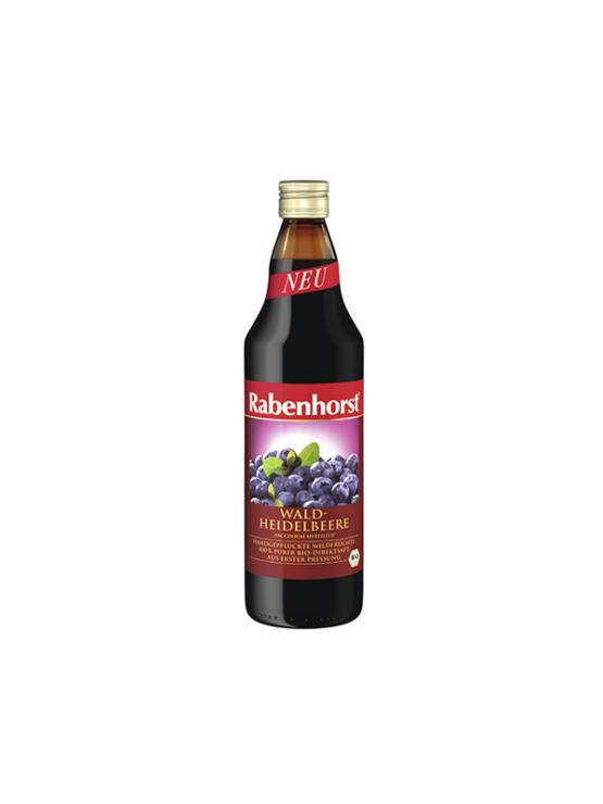 Rabenhorst ekološki borovničev sok v steklenici, 750ml.