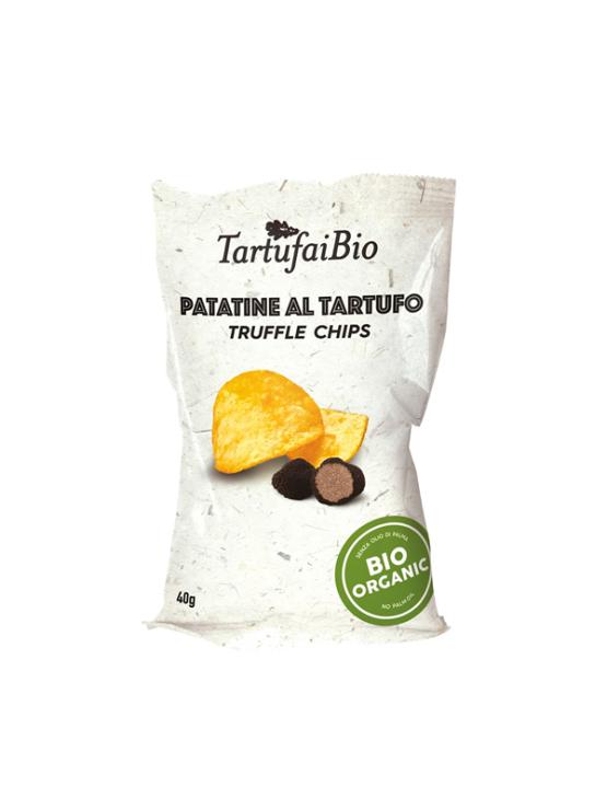 Probios ekološki čips s tartufi v plastični embalaži, 40g.