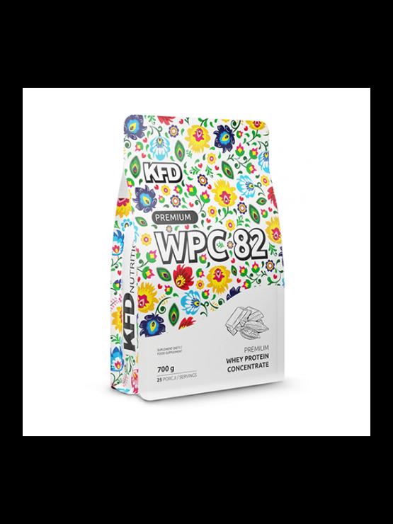 KFD Nutrition WPC PREMIUM Beljakovine z okusom čokolade v plastični embalaži, 700g.