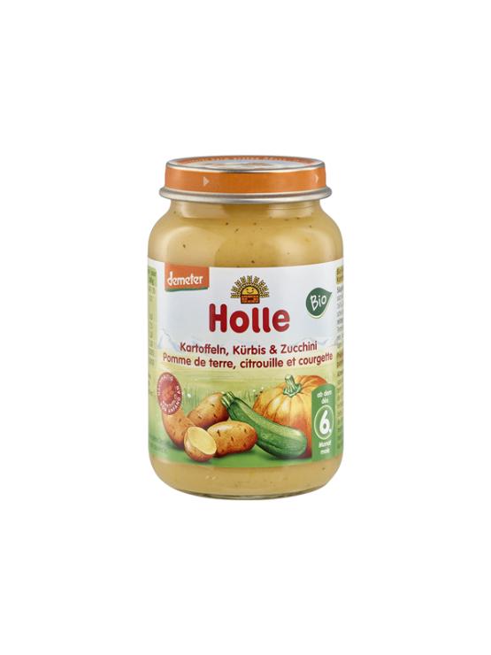 Holle ekološka kašica z bučko, bučo in krompirjem v kozarcu, 190g.