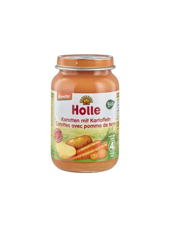 Holle ekološka kašica s korenčkom in krompirjem v kozarcu, 190g.