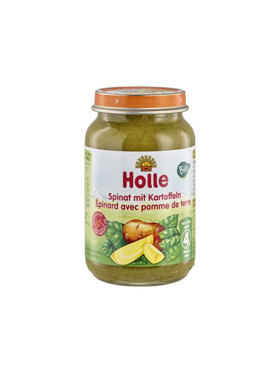 Holle ekološka kašica s špinačo in krompirjem v kozarcu, 190g.
