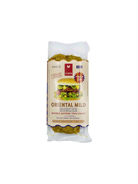 Viana ekološki falafel burgerji v prozorni plastični embalaži, 200g.