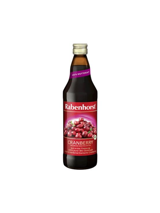 Rabenhorst ekološki brusnični sok v steklenici, 750ml.