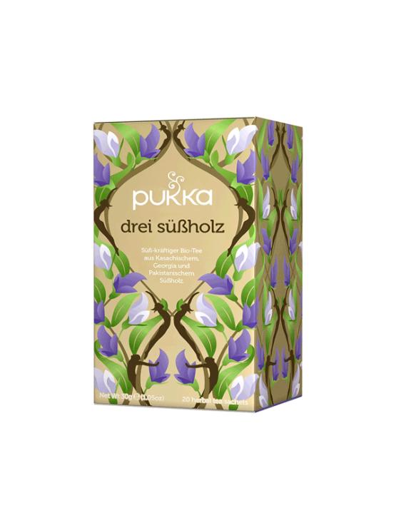 Pukka ekološki čaj Trije sladki koreni v kartonski embalaži, 30g.